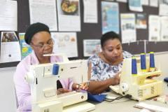 members-of-Womens-Cretive-Hub-preparing-thier-products