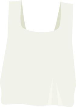 lightweight plastic bag