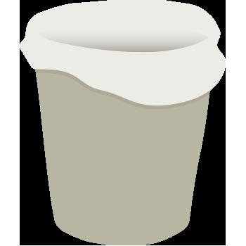 bin with plastic bin liner