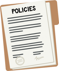Policies paperwork folder