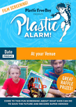 poster for the movie plastic alarm showing a boy and his father