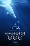 movie poster featuring an underwater photo of a plastic bag