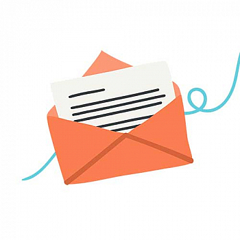 envelope with letter